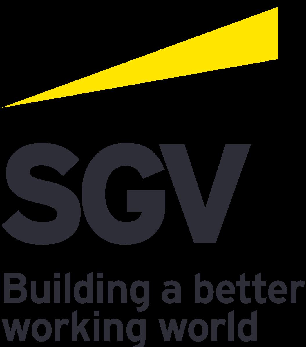 SGV logo (new) Off Black